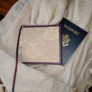Asprey London Leather Trim Travel Journal Notepad